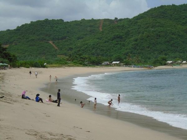 Playa de Mawun, Lombok