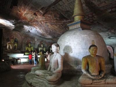 temple rock dambulla