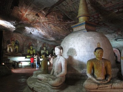 temple rock dambulla