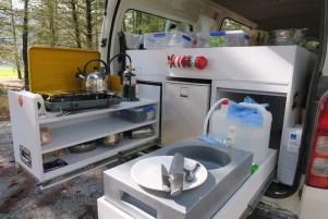 Cocina furgoneta Action Pod