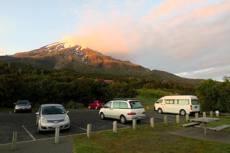 camping en taranaki