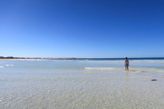 lancelin beach