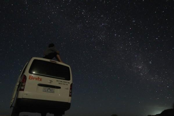 Cielo estrellado en Shark Bay
