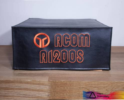 Acom Radio Dust Cover by Prism Emboidery