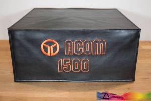 DX Covers radio dust cover for the Acom 1500
