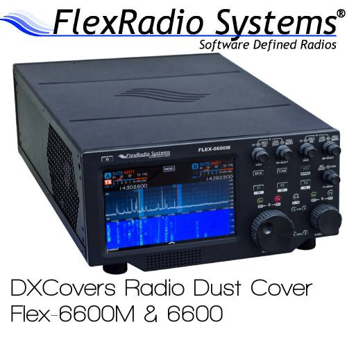 FlexRadio Systems 6600M & 6600 Prism Embroidery Radio Dust Covers shop logo