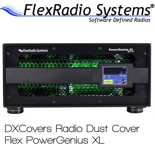 FlexRadio Systems PowerGenius XL Prism Embroidery Radio Dust Covers shop logo