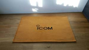 Icom Gold Shack Mat Radio Radio Dust cover