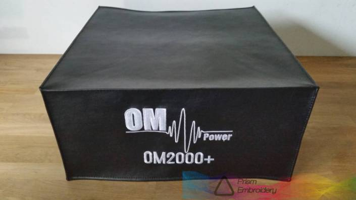 DX Covers radio dust cover for the OM Power OM2000+