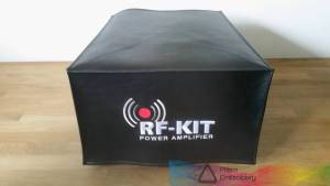 DX Covers radio dust cover for the RF-KIT Power Amplifier