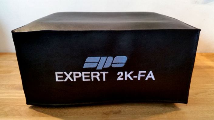 DX Covers radio dust cover for the SPE Expert 2K-FA