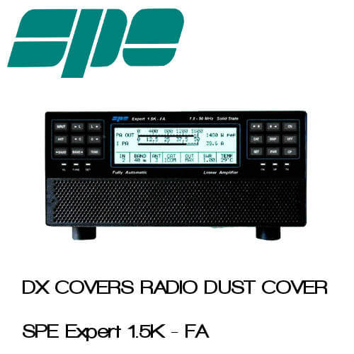 SPE Expert 1.5K-FA Prism Embroidery Radio Dust Covers shop logo