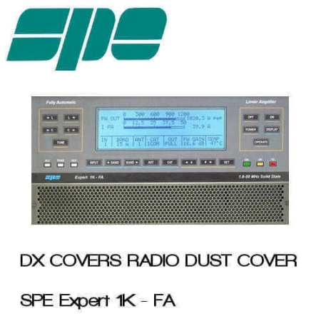 spe expert 1k-fa dx covers radio dust cover shop