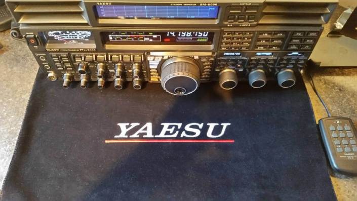 Yaesu FTDX5000MP Shack Mat DX Covers Radio dust cover
