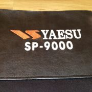 DX Covers radio dust cover for the Yaesu SP-9000
