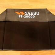 DX Covers radio dust cover for the Yaesu FT-2000D