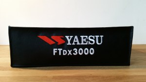 DX Covers radio dust cover for the Yaesu FTDX3000