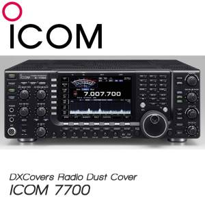 ICOM IC-7700 Prism Embroidery Radio Dust Covers shop logo
