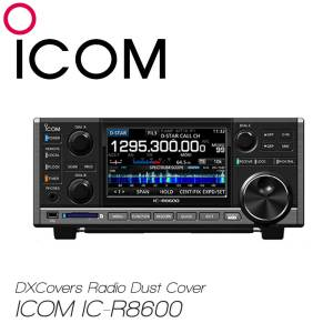 ICOM IC-R8600 Prism Embroidery Radio Dust Covers shop logo