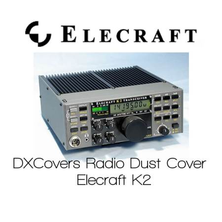 Dx Covers Elecraft k2 radio dust cover
