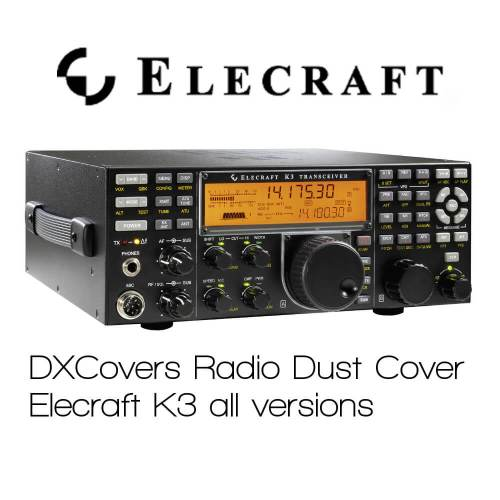 elecraft radio dust covers prism embroidery