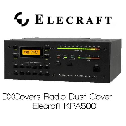 Elecraft KPA500 Prism Embroidery Radio Dust Covers shop logo