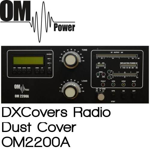 OM Power OM2200A Prism Embroidery Radio Dust Covers shop logo