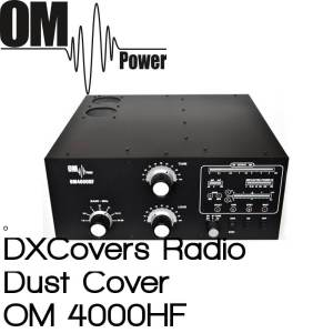OM Power OM 4000HF Prism Embroidery Radio Dust Covers shop logo