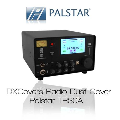 Palstar TR30A Prism Embroidery Radio Dust Covers shop logo