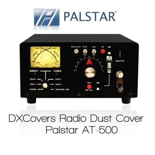Palstar AT-500 Prism Embroidery Radio Dust Covers shop logo