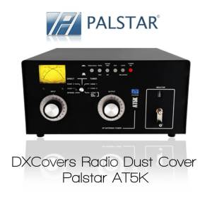 Palstar AT5K Prism Embroidery Radio Dust Covers shop logo