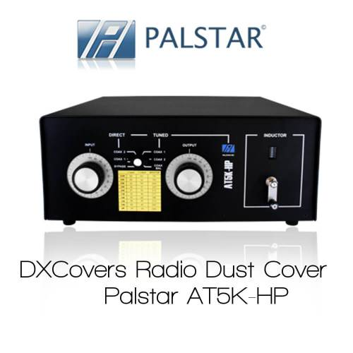 Palstar AT5K-HP Prism Embroidery Radio Dust Covers shop logo