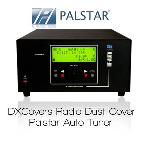 Palstar HF-AUTO Prism Embroidery Radio Dust Covers shop logo