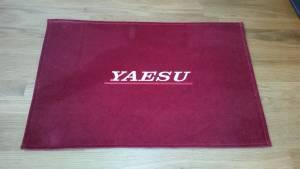 Yaesu shack mat red win