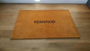 Kenwood Gold Shack Mat Radio Radio Dust cover