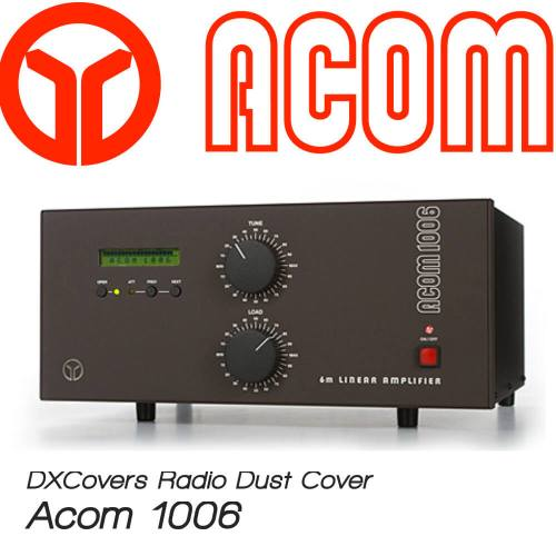 Acom 1006 Prism Embroidery Radio Dust Covers shop logo