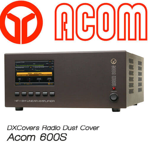 Acom 600S Prism Embroidery Radio Dust Covers shop logo