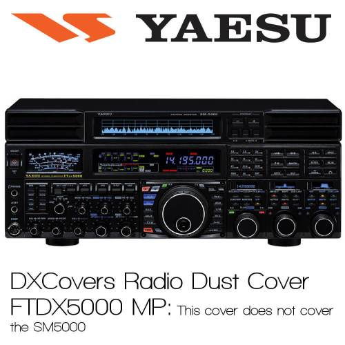 Yaesu FTDX5000MP (no SM5000) Prism Embroidery Radio Dust Covers shop logo