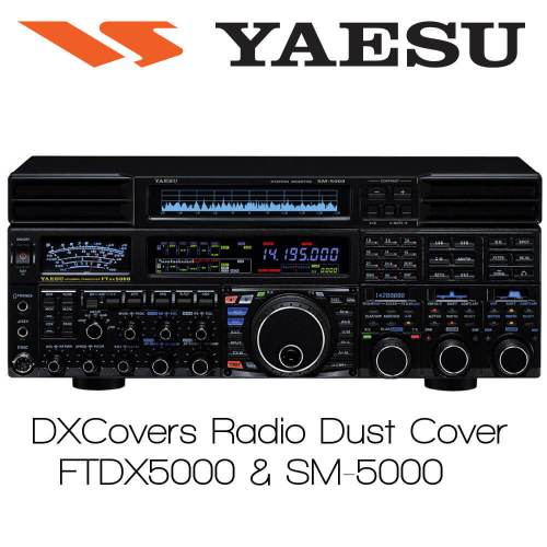 Yaesu FTDX5000 & SM5000 (FULL) Prism Embroidery Radio Dust Covers shop logo