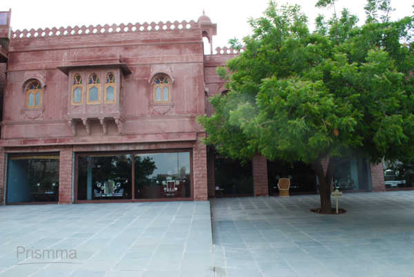fort courtyard KHIMSAR49