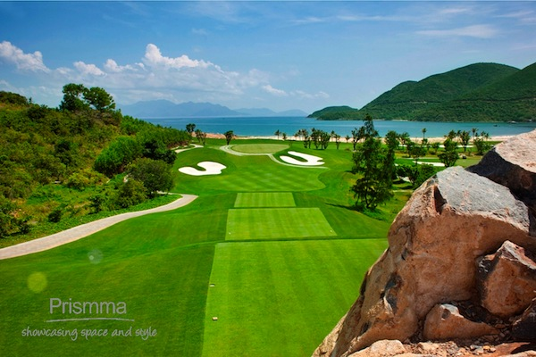 golf course vinpearl