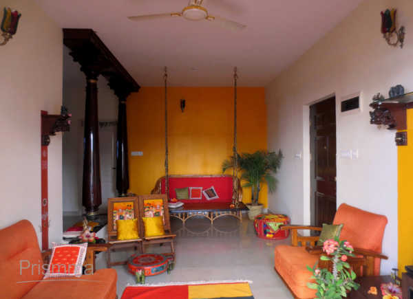 Traditional indian living room interior design for Traditional indian living room designs