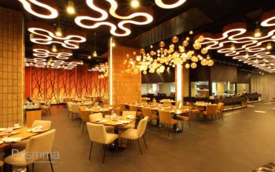 Restaurant Interior Design   Changing concepts Interior Design     restaurant ceiling design VIVANTA49