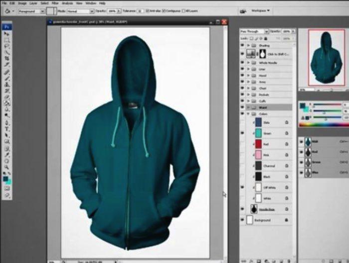 Desenhando o seu próprio moleton no Photoshop