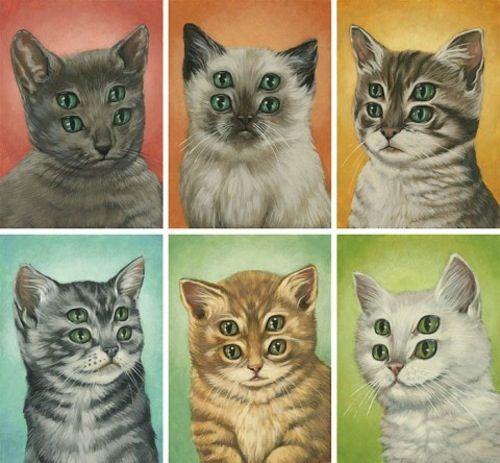 O estranho mundo cheio de gatos de Casey Weldon - A narrativa estética de Casey Weldon aponta para um lugar cheio de luz. Um lugar que brilha com uma luminosidade misteriosa e que olha em direção ao espectador, tentando convidá-lo em sua direção e mostrando tudo que existe por lá. Algumas vezes, a arte de Casey Weldon mostra um humor peculiar porém, o foco de sua arte é quase sempre a cultura pop. Principalmente quando ele resolve comentar a vida moderna e sua dependência de redes sociais e o mundo online. Mas estamos aqui para mostrar seus gatos e sua arte.