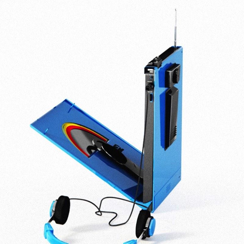 Rawman 3000 Um Walkman Para Discos Em Vinil Via Pristinaorg