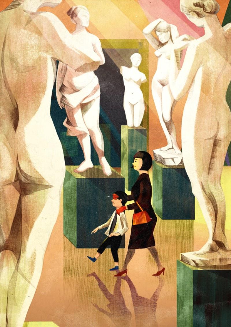 Cornelia Li é uma ilustradora nascida na China e que, atualmente, trabalha em seu portfólio lá de Toronto, no frio canadense. Desde criança, ela adorava desenhar e resolveu levar essa sua paixão a sério quando sua família imigrou para o Canadá, quando ela tinha 11 anos.