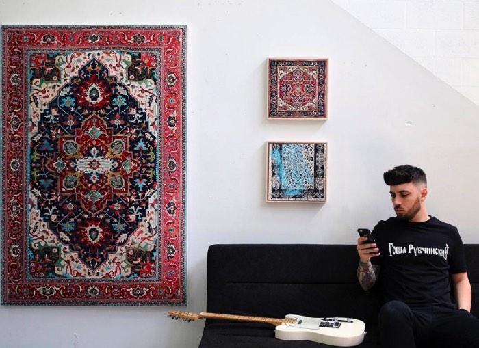 Pintando Tapetes Persas Com Jason Seife Via Pristinaorg