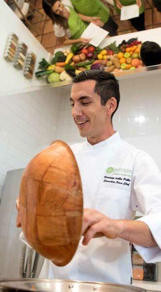 Vegetarian Cooking School