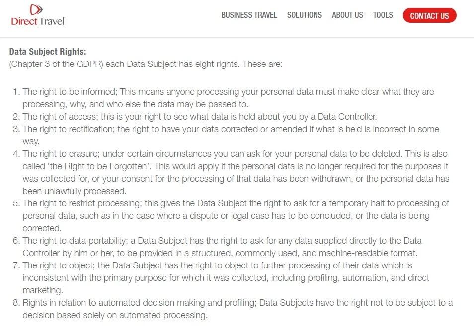 Gdpr Privacy Policy Template Privacy Policies